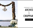Discover 19 ways to decorate your wedding ceremony arch or chuppah