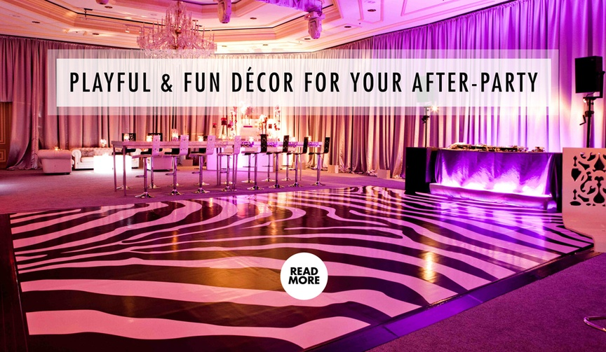 Wedding After Party Decoration And Theme Ideas