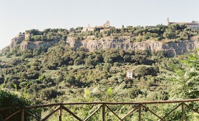 wedding location in the italian countryside Orvieto, Umbria, Italy