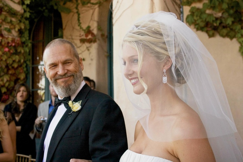 The Big Lebowski actor walks daughter down aisle