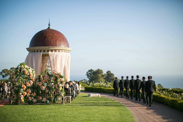 The Resort at Pelican Hill rotunda ceremony