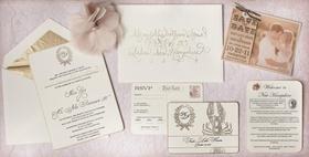 Wedding invite feels like home theme Keri Lynn Pratt