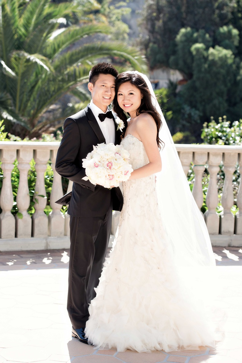 American Wedding Traditions.Classic California Wedding With American And Chinese Traditions