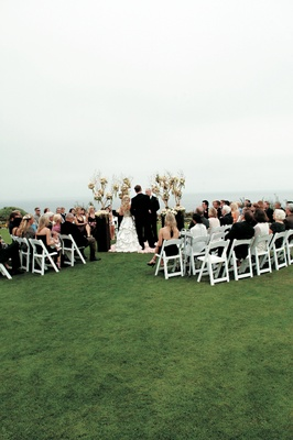 Montage Laguna Beach hilltop in-the-round marriage