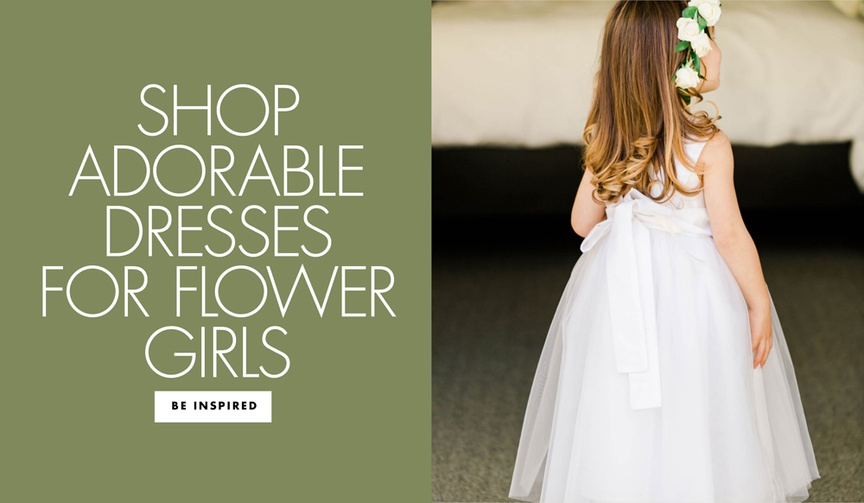 shop adorable dresses for flower girls wedding ideas