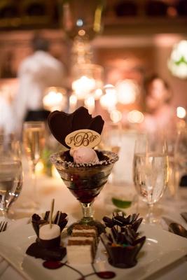 the breakers wedding dessert menu, wedding dessert options, gourmet ice cream sundae