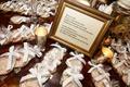 monogrammed cookies as wedding favors