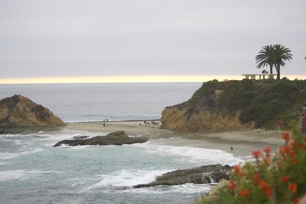 mountains and beach of Laguna Beach