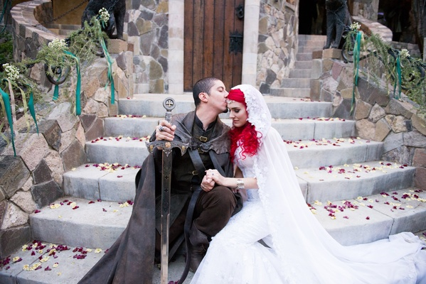Game of Thrones Lord of the Rings Wedding Inside Weddings