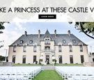 Feel like a princess at these castle wedding venues