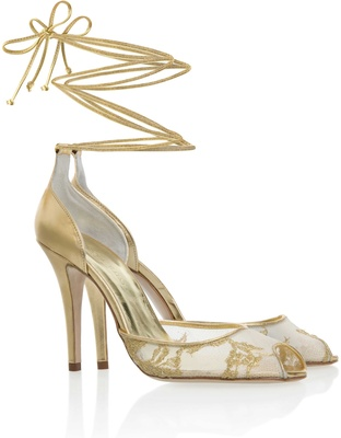 Wedding Shoes: Sparkling High Heels for Winter Weddings - Inside ...