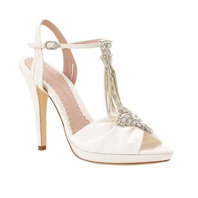 33e8134d4b6 Emmy London Ivy t-strap peep-toe heel with jewel detail wedding shoe.