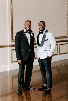 "r&b singer durrell ""tank"" babbs & zena foster wedding, Jamie Foxx groomsman"