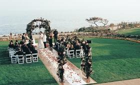Lawn ceremony at Montage Laguna Beach