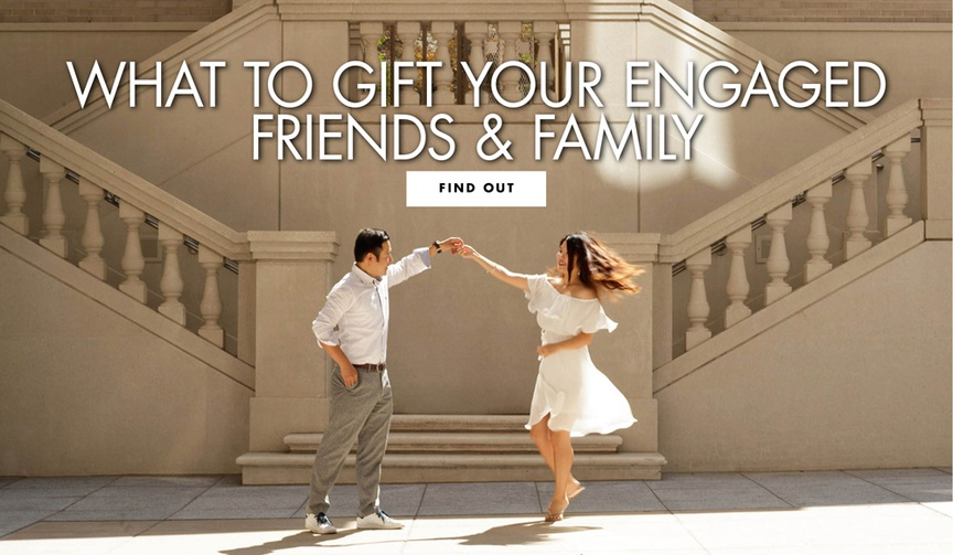 what to gift your engaged friends and family members engagement gift ideas