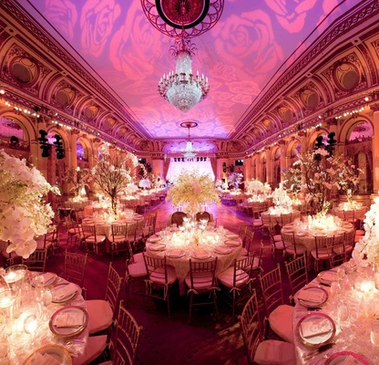 Wedding reception at the Grand Ballroom of The Plaza