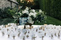 Jillian Murray and Dean Geyer wedding reception escort card idea animal for different table names