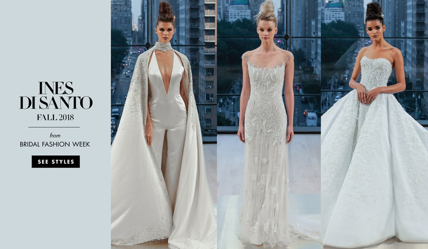 Ines Di Santo wedding dresses fall 2018 bridal collection bridal gown