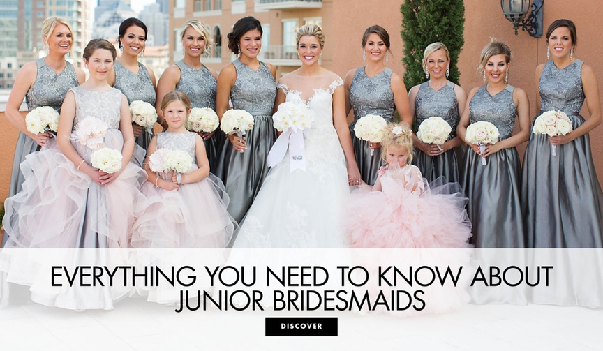 Everything you need to know about junior bridesmaids in your wedding party bridal party