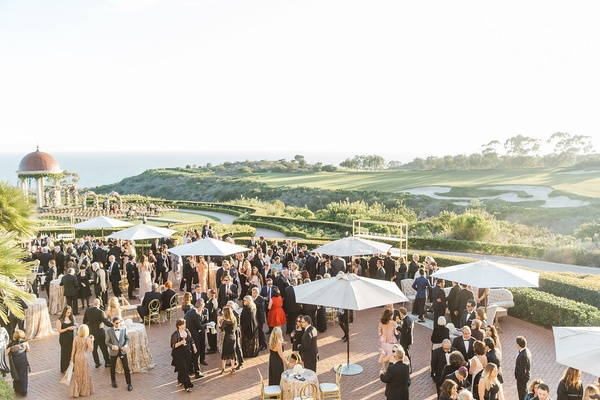 outdoor resort venue southern california golf course pelican hill newport beach reception wedding