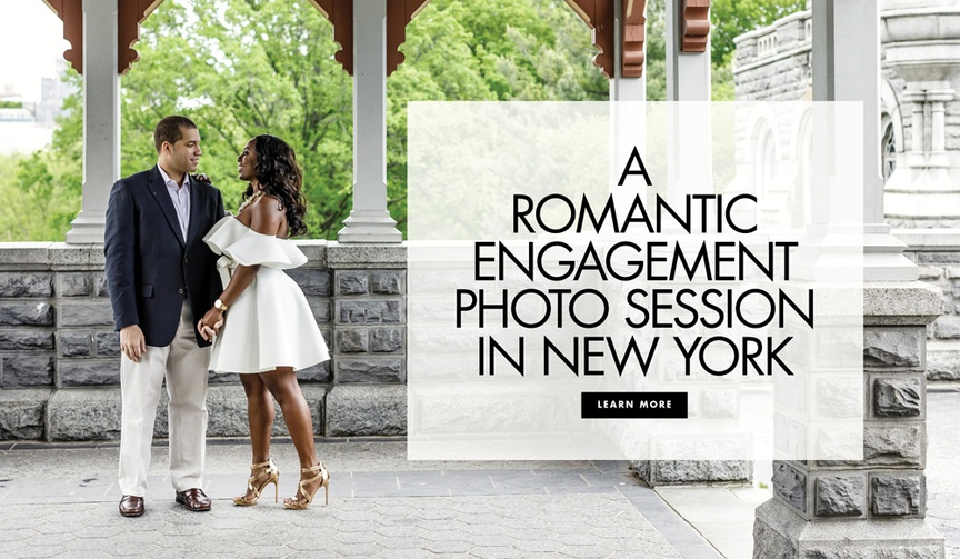 engagement photos in central park, interracial engagement photos inspiration