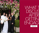 what to discuss after getting engaged with your parents