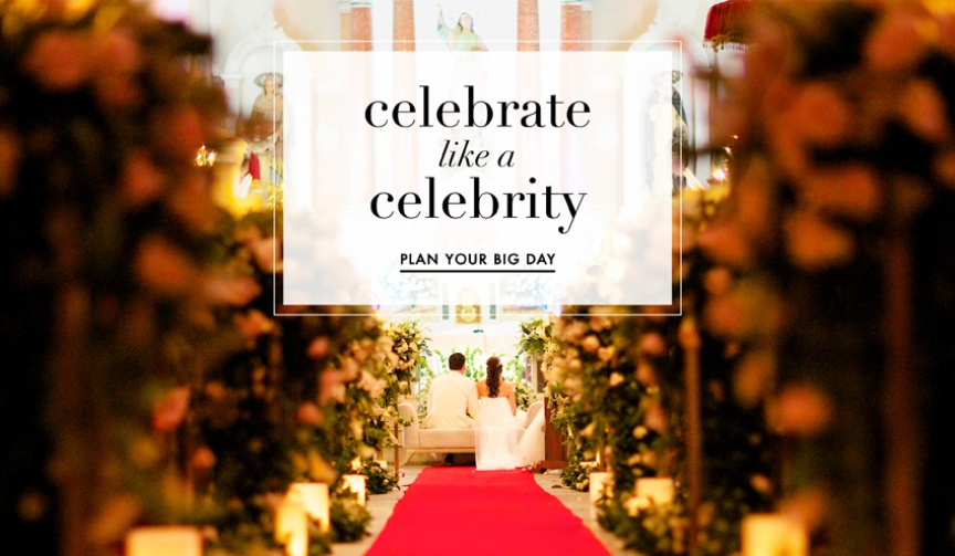 Learn how to celebrate your wedding like a celebrity