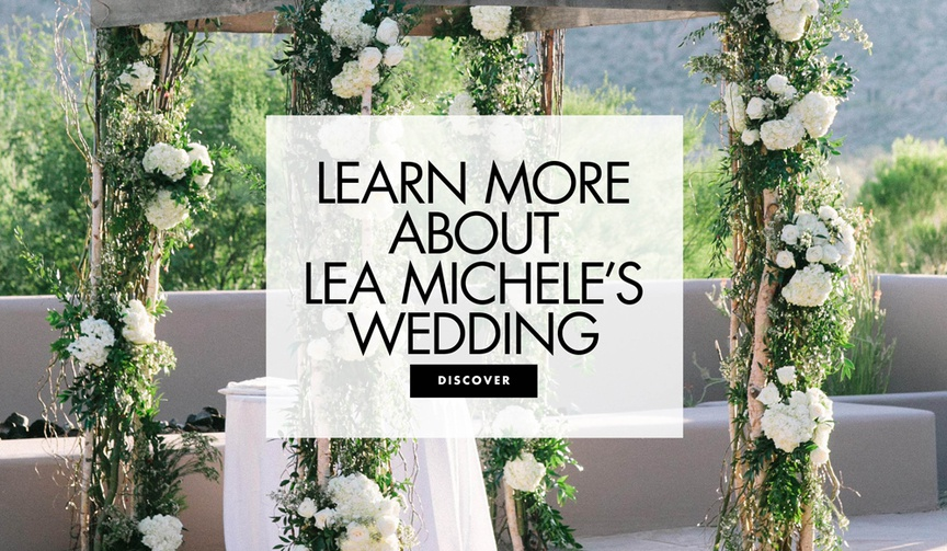 Learn more about lea michele and zandy reich's northern california wedding