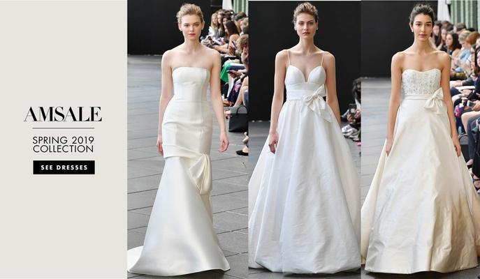 f672c1c889f Bridal Fashion Week  Amsale and Nouvelle Amsale Spring 2019 - Inside ...