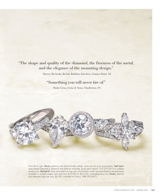 Engagement Rings From Here To Eternity Inside Weddings