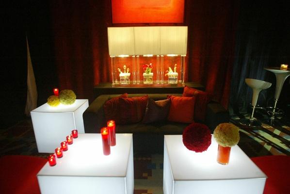 Las Vegas-style lounge space