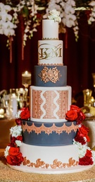 Planner: Elles Couture Events Florals: Makini Regal Designs Cake: Jadore Cakes