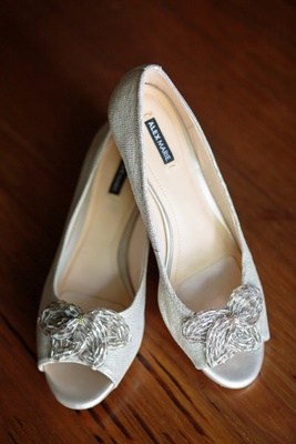Alex Marie Mindee Beaded Mini-Wedge, butterfly shaped detail