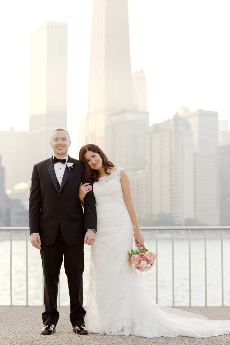 Customized Chicago Wedding with Pink, Blush & Marsala Color Palette ...