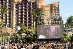 Televised wedding at Hawaii's Disney resort