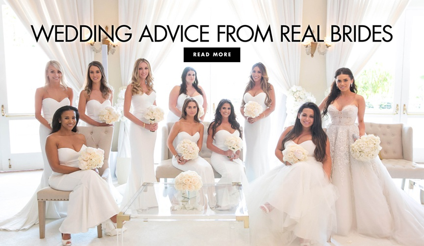 Wedding advice from real brides wedding planning tips and advice
