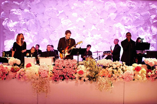 West Coast Music performs at wedding reception