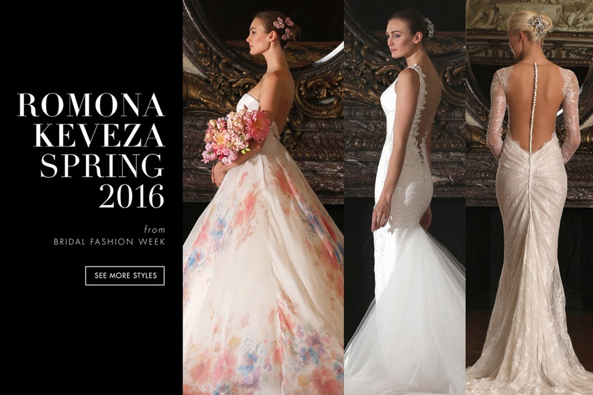 Romona Keveza Spring 2016 Bridal Dress Collection