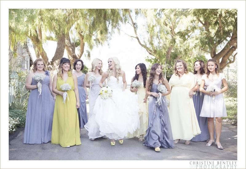 Reception Dcor Photos Maravilla Gardens Yellow And Gray Wedding