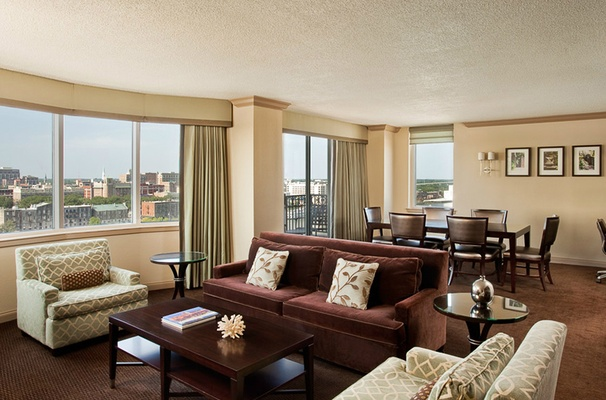 Presidential Suite at The Westin Savannah Harbor Golf Resort & Spa