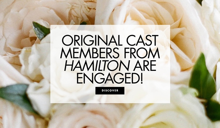 Original cast members Anthony Ramos and Jasmine Cephas Jones are engaged