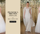feminine wedding gowns francesca miranda spring 2018 girly romantic fairy tale fashion
