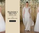 feminine wedding gowns francesca miranda spring 2018 girly romantic fairy tale fashion
