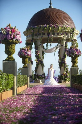 Oceanfront wedding ceremony at The Resort at Pelican Hill