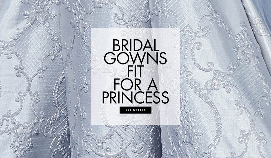 See beautiful ball gowns from the spring 2019 bridal collections.