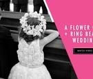 Flower girl and ring bearer get married