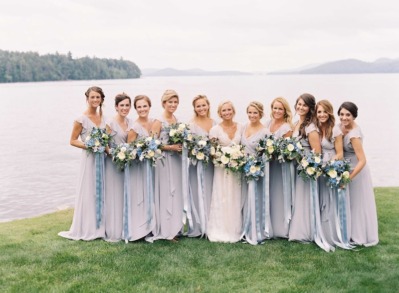 Brides Amp Bridesmaids Photos Bride With Bridesmaids In