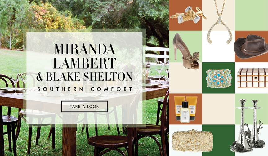Southern wedding ideas from Miranda Lambert and Blake Shelton