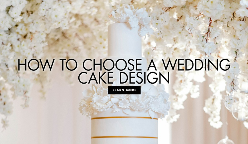 how to choose a wedding cake design wedding cake types ideas