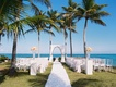 beach wedding, dominican republic wedding, tropical ceremony
